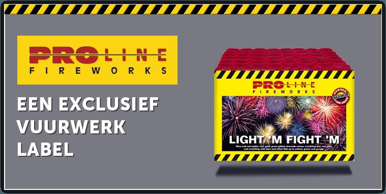 Proline fireworkds - Een exclusief vuurwerklabel!