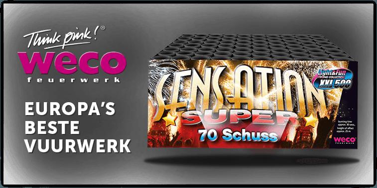 Weco vuurwerk - Europa's beste vuurwerk!