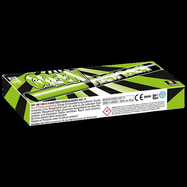 B2B Flash Torch Groen -