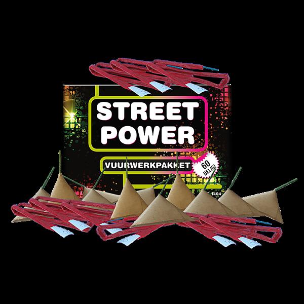 Street Power - vuurwerkpakket