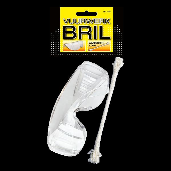 Vuurwerkbril + Lont - veiligheid
