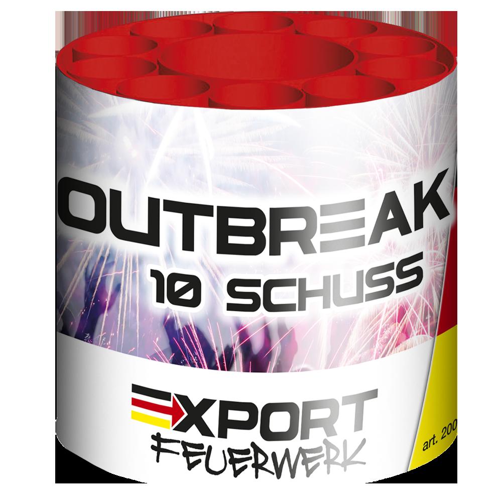 Outbreak - Duits vuurwerk - export-feuerwerk