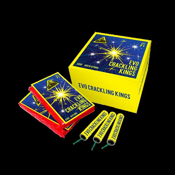 EVO Crackling King - evolution-fireworks
