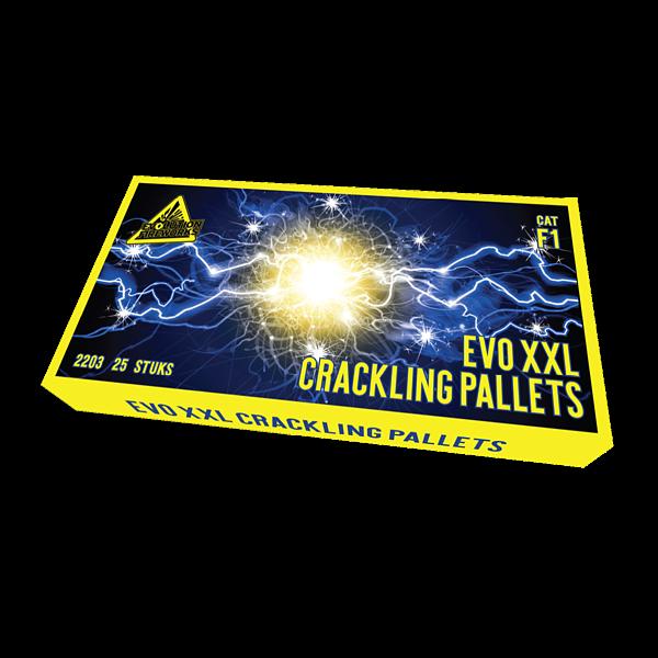 EVO XXL Crackling - evolution-fireworks