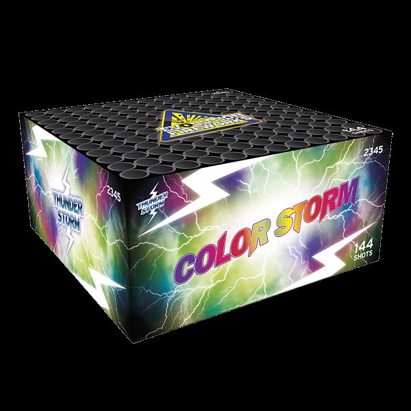 Color Storm - evolution-fireworks