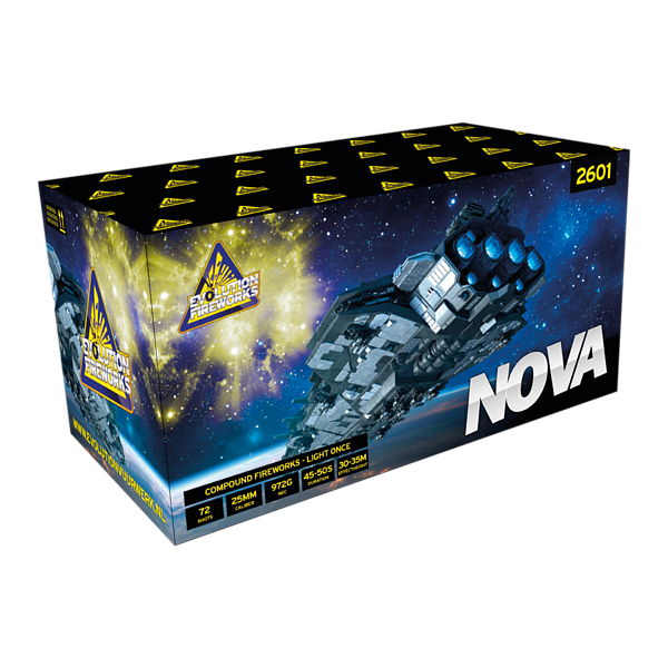 Nova - evolution-fireworks