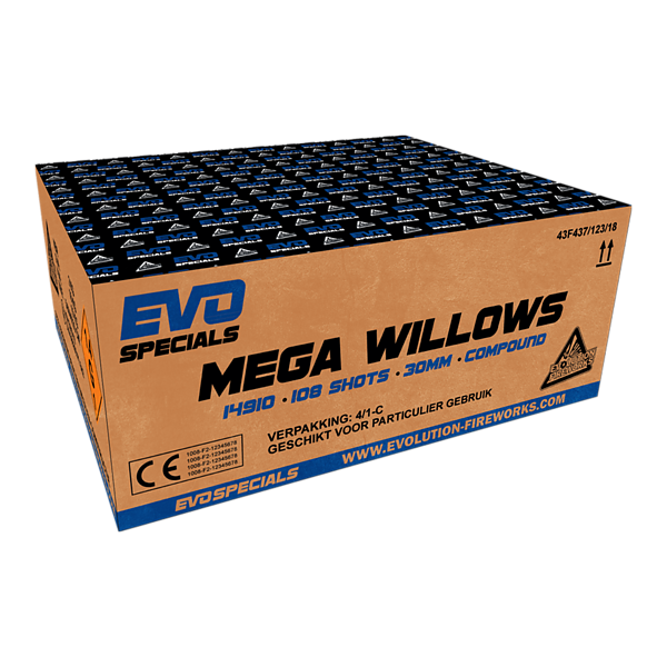Mega Willows - evolution-fireworks