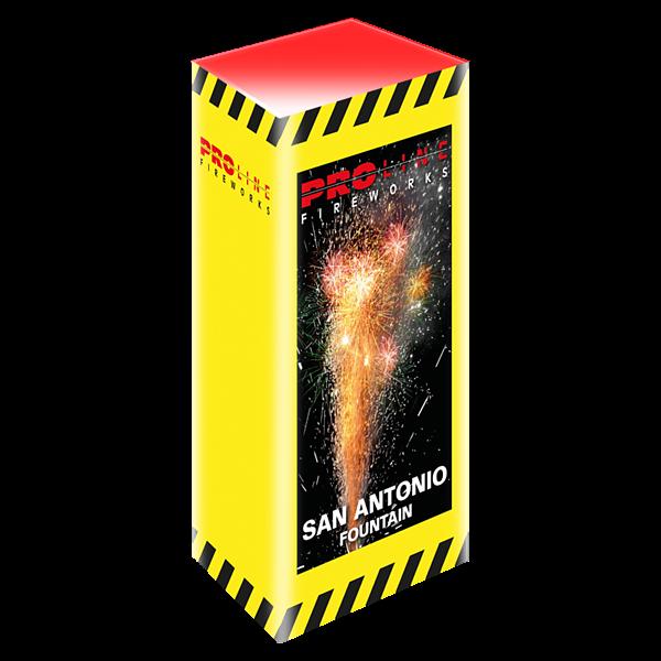 San Antonio Fontein - proline-fireworks