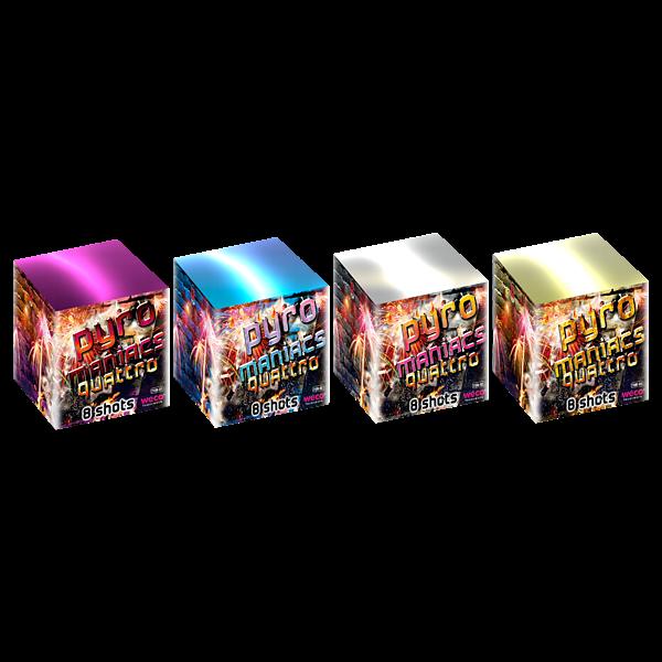 Pyromaniacs Quattro - weco-feuerwerk