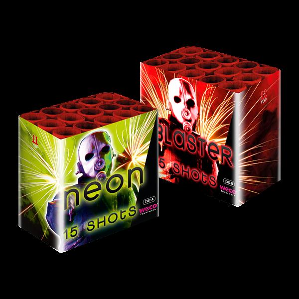 Blaster en Neon - weco-feuerwerk