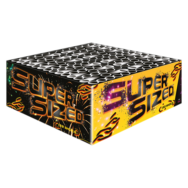 Supersized - weco-feuerwerk